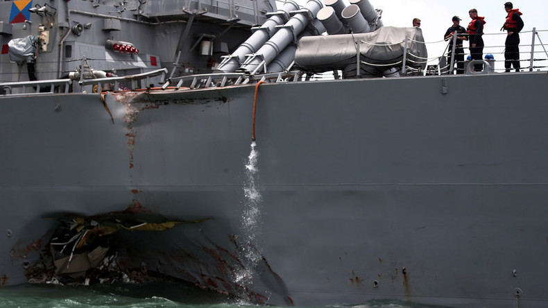 US Navy proposes more sleep & training for sailors after 'avoidable' ship collisions