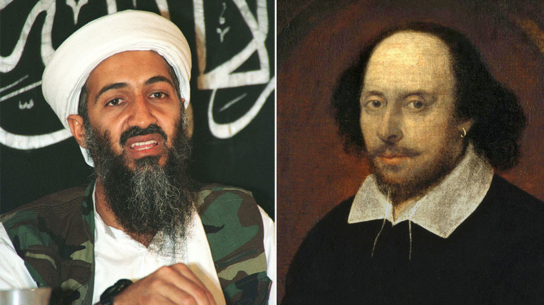 Did visit to Shakespeare's birthplace turn Bin Laden against the UK?