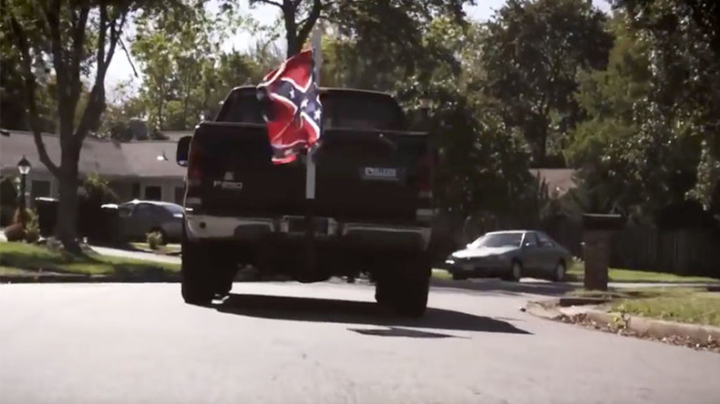 'Repulsive' political ad shows minority kids chased by truck flying Confederate flag (VIDEO)