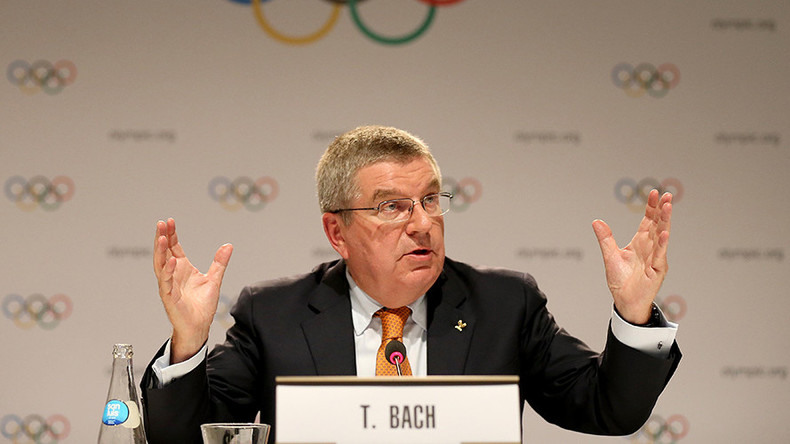IOC President criticizes calls to ban Russia from 2018 Pyeongchang Winter Olympics
