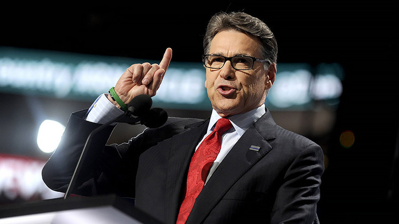 Rick Perry: Fossil fuels will help... prevent sex crimes in Africa