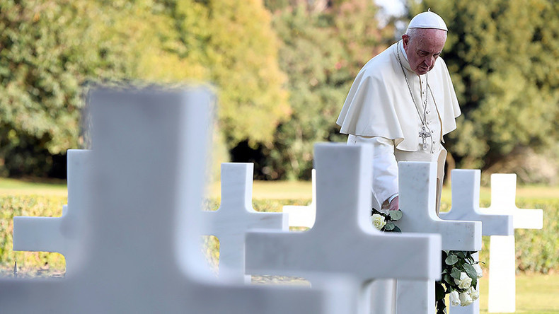 'Please Lord, stop': World is at war and heading into even greater conflict, Pope warns