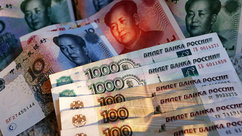 Ruble-yuan trade between Russia & China makes dollar odd man out