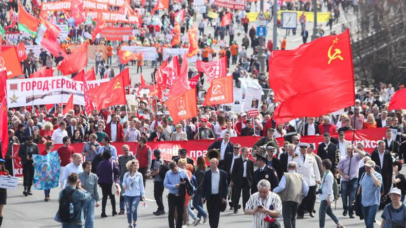Communists accuse Kremlin of 'silencing' revolution centenary