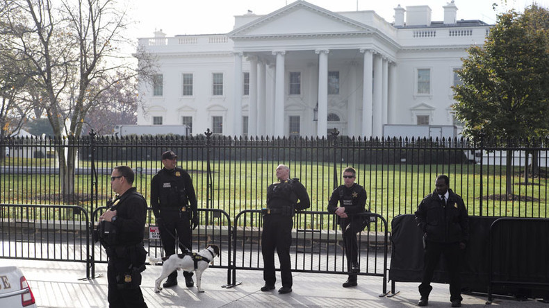 White House on lockdown due to