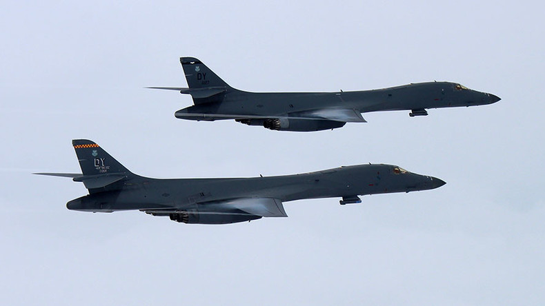 US bombers drill over S. Korea, Pyongyang says Washington 'seeks to ignite nuclear war'