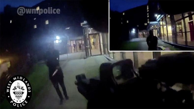 Bodycam footage captures moment police use Tasers to disarm knifeman (VIDEO)