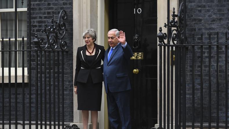 Tony Blair & John Kerry celebrate Balfour, marking 100yrs since UK helped create Israel