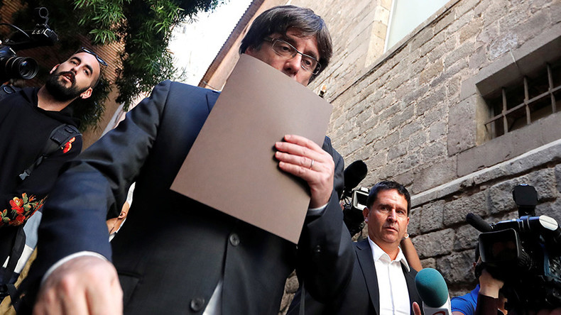 Former Catalan leader Puigdemont & 4 ex-ministers granted conditional release in Belgium