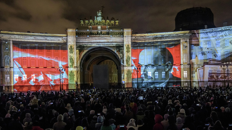 100yrs since Red October, Westerners are more into revolutionary nostalgia than Russians