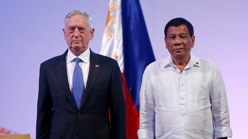 Russia, China support Philippines in fighting terrorism, drugs - President Duterte