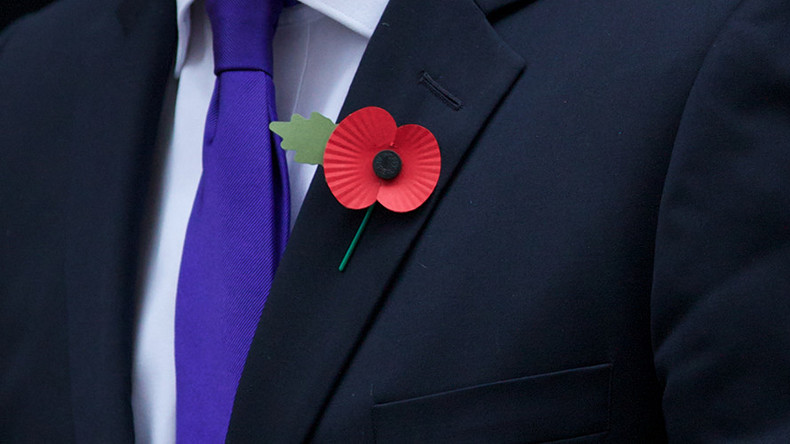 BBC 'banned' guests from wearing poppy commemorating war dead