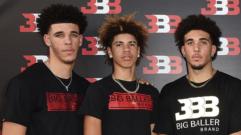 Brother of LA Lakers' Lonzo Ball among college players arrested in China for shoplifting – reports
