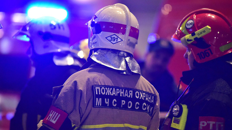 Fire breaks out at Russian foreign intel service facility in Moscow (VIDEO)