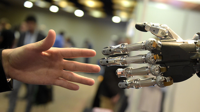 Hug a robot? Study concludes UK workers should embrace automatons