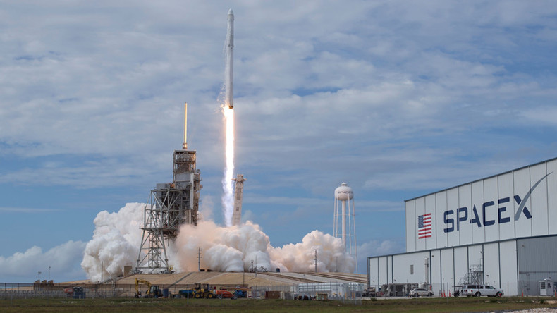 SpaceX rocket engine explodes during test, probe launched