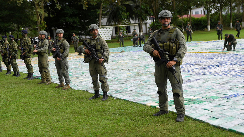 $360mn cocaine bust: Record 12 tons seized by Colombian cops (VIDEO, PHOTOS)