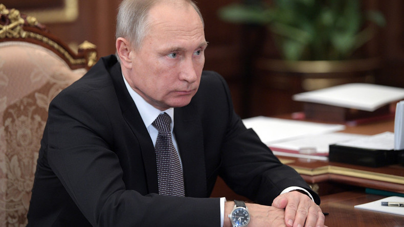 Putin: US wants to disrupt upcoming Russian presidential election