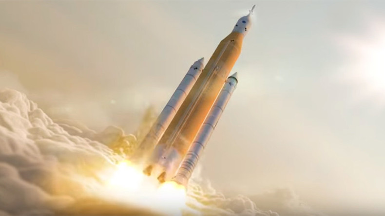 NASA building very own 'Big F**king Rocket' to rival SpaceX (VIDEO)