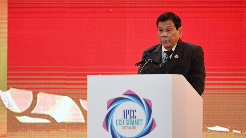 Philippines' Duterte offers to host world summit on human rights amid notorious 'war on drugs'