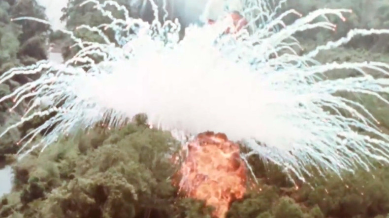 Dropping napalm and phosphorus: US releases gruesome footage of Vietnam War air assaults