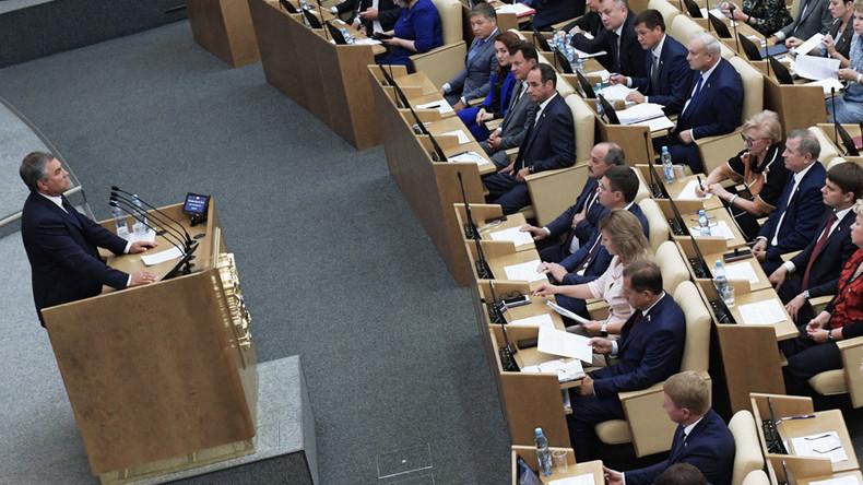 Duma to prepare mirror response to US steps targeting RT – speaker