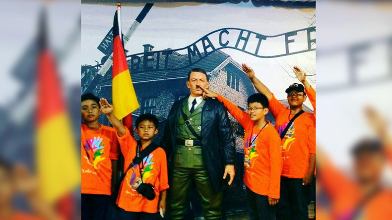 Pose with Hitler?! Indonesian museum offers happy snaps in front of Auschwitz display for 'fun'