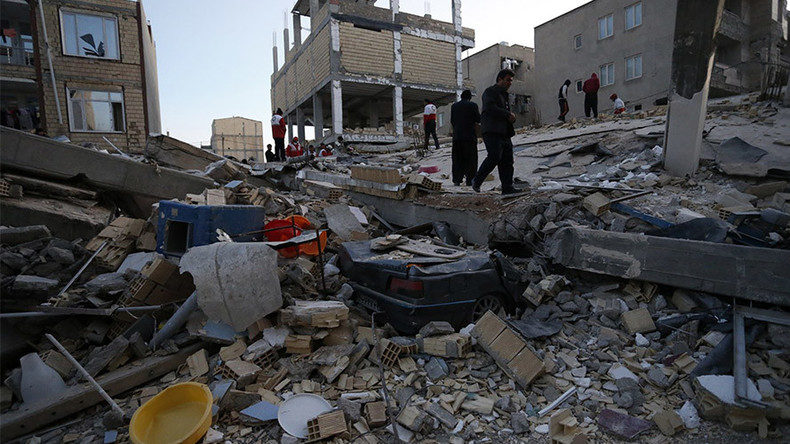 Deadly quake hits Iran & Iraq: 400+ killed, over 6,700 injured