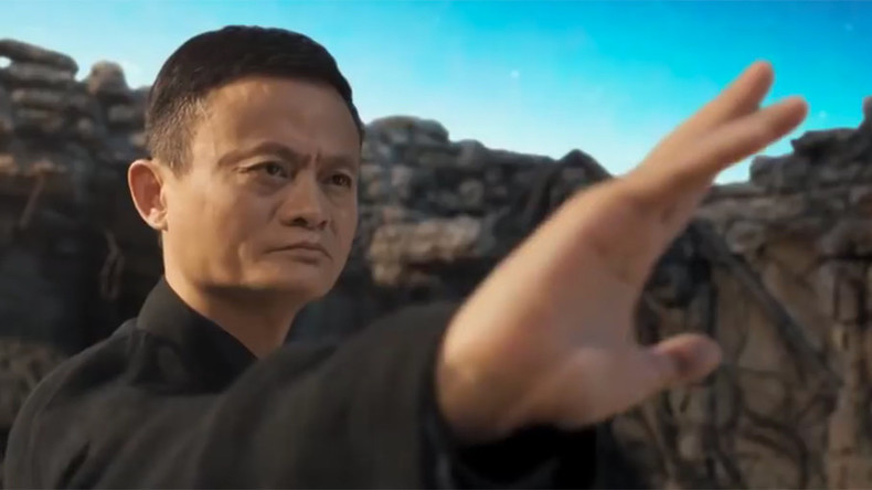 Alibaba founder Jack Ma braves Jet Li & other martial-arts stars in new action movie (TRAILER VIDEO)