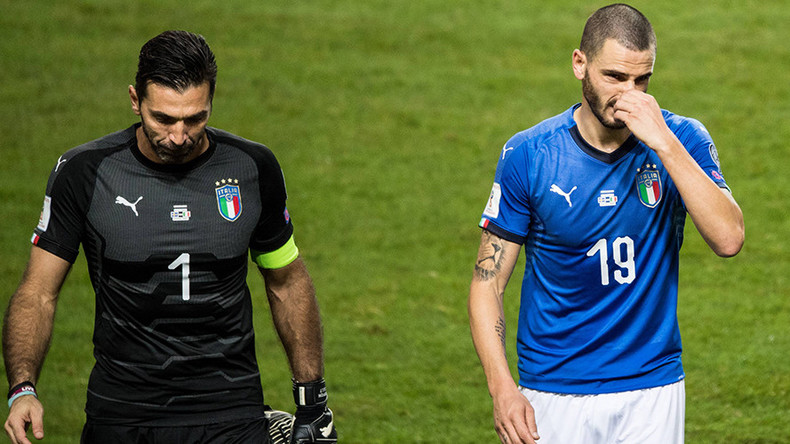 Italy face crunch Sweden game as World Cup disaster beckons