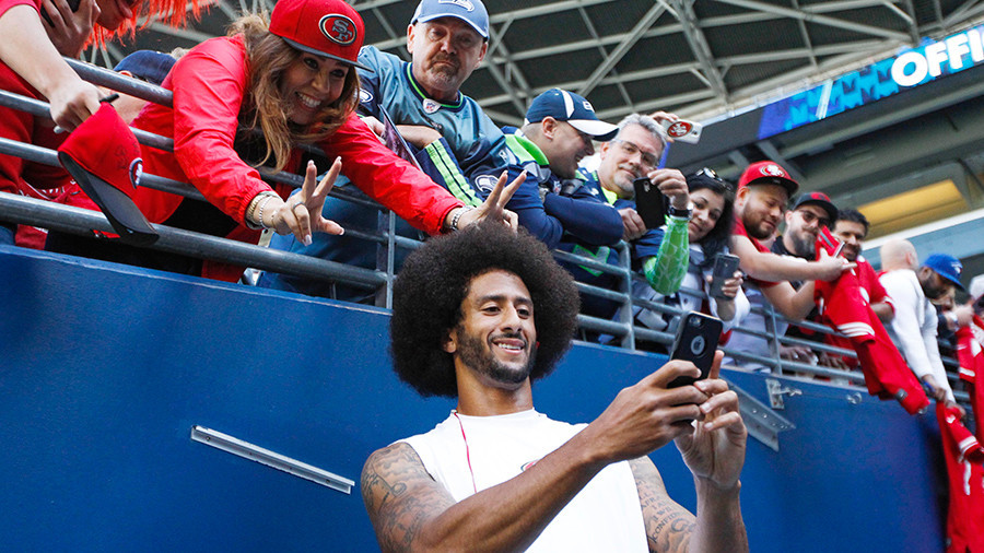 Colin Kaepernick named GQ 'Citizen Of The Year,' not quoted in article