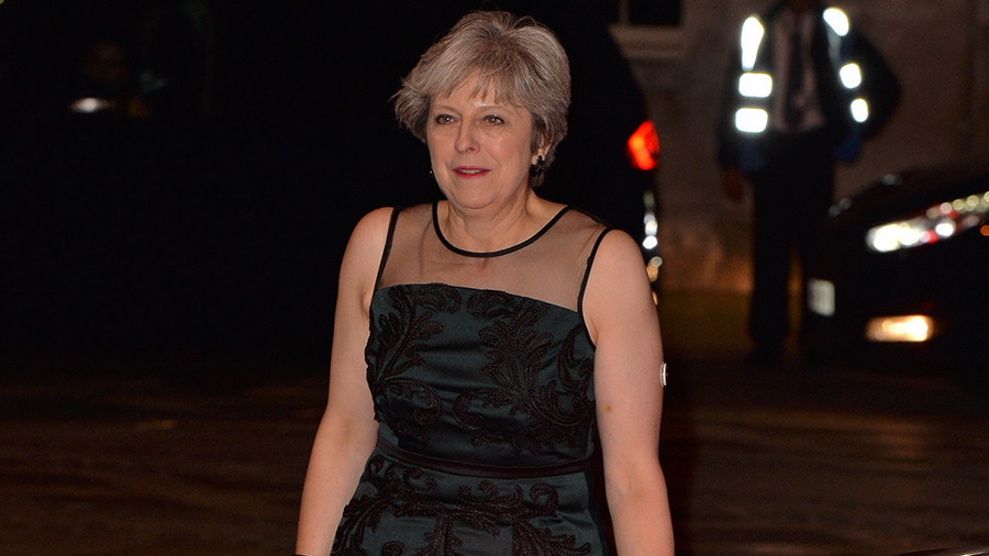 Someone in Russia sent some tweets, Theresa May warns the entire Western world may crumble