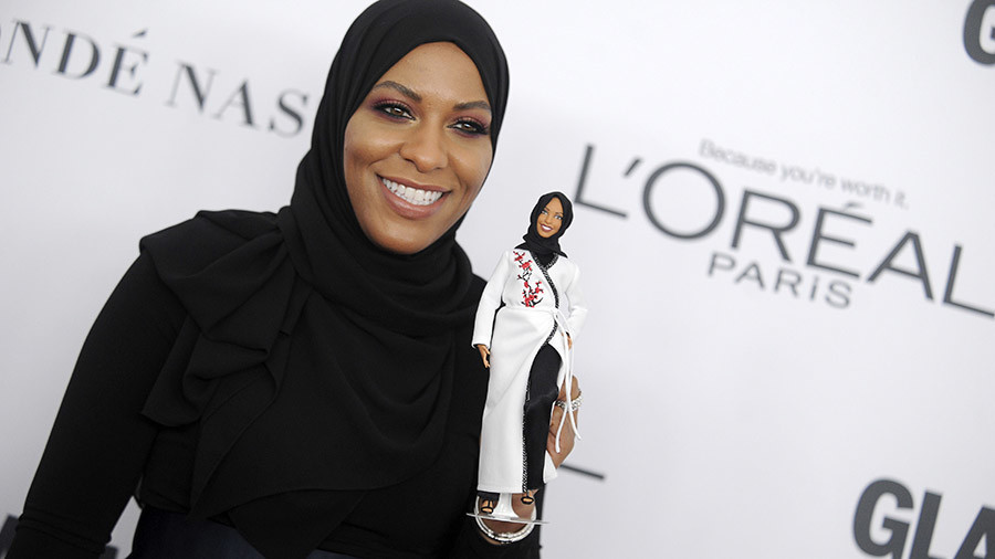 Barbie wears hijab, doll modeled after Olympian fencer