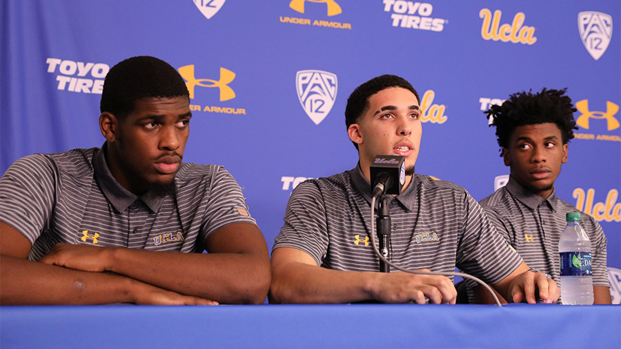 'We really appreciate you' - UCLA basketball players thank Trump for negotiating release