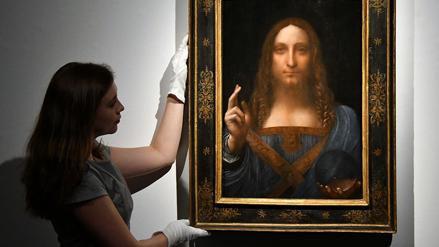 Da Vinci painting breaks all art auction records fetching over $450 million