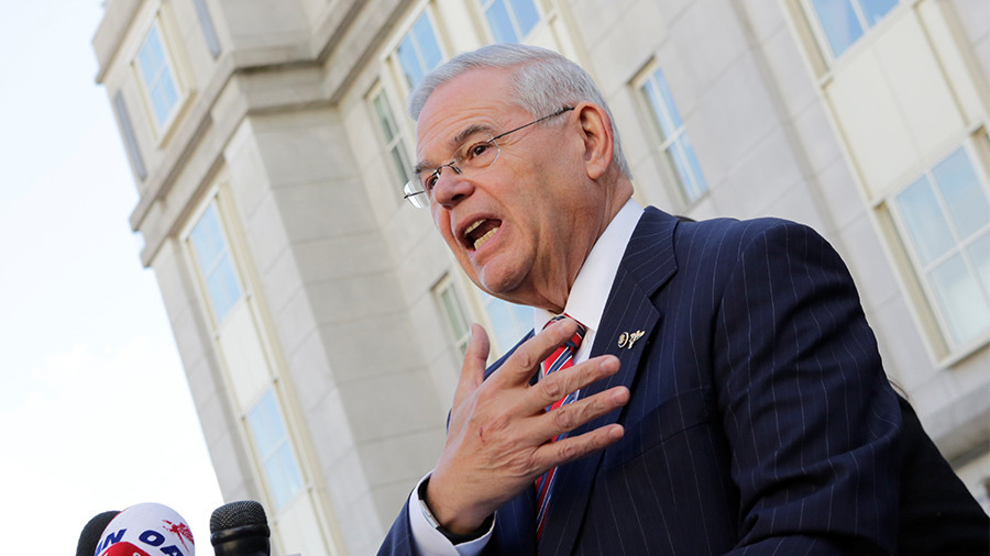 Mistrial declared in Menendez corruption trial, as jury deadlocks