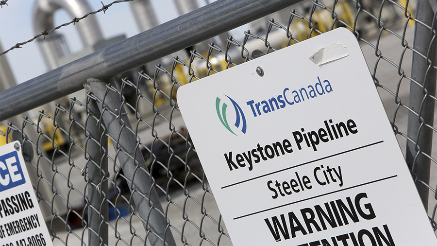 At least 210,000-gallon oil spill causes Keystone Pipeline closure in S. Dakota