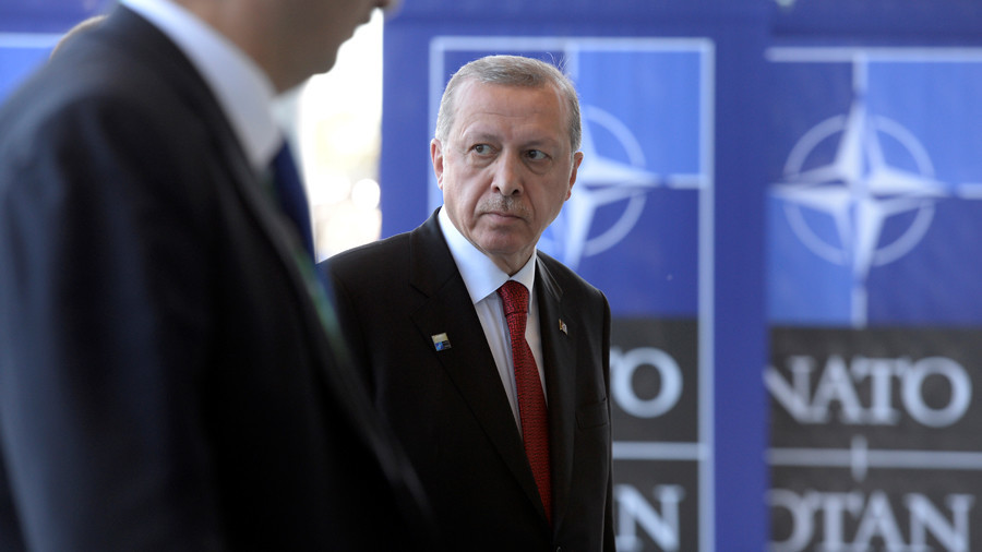 Turkey abandons North Atlantic Treaty Organisation drill over portrayal as the enemy