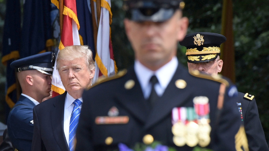Is a military coup against Trump in the cards?