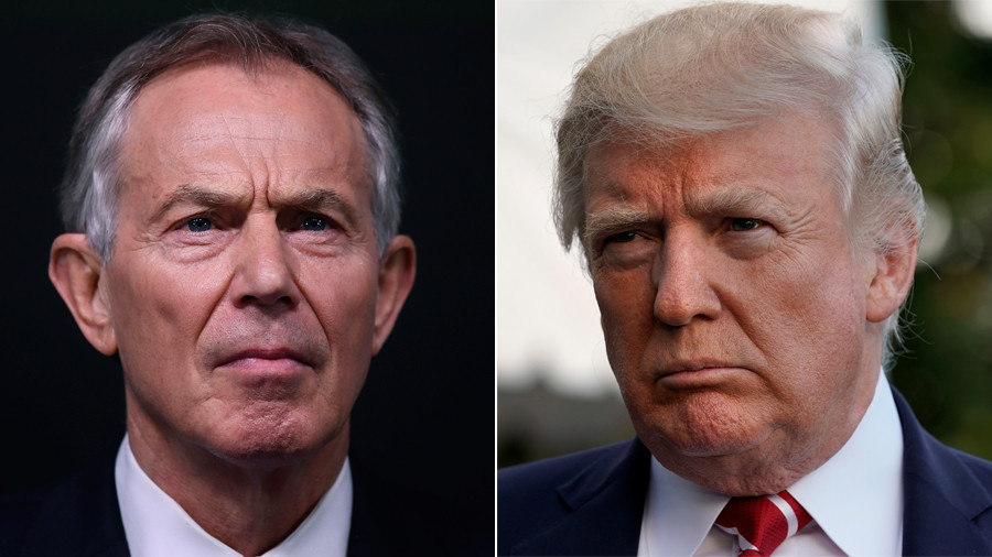 Don't alienate your allies, you'll need them to face China – Tony Blair warns Donald Trump