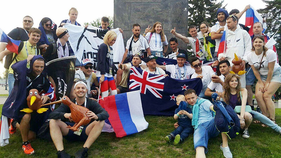 'Thank you Russia for beating hate with love' – New Zealand fan's heartfelt letter to football fans