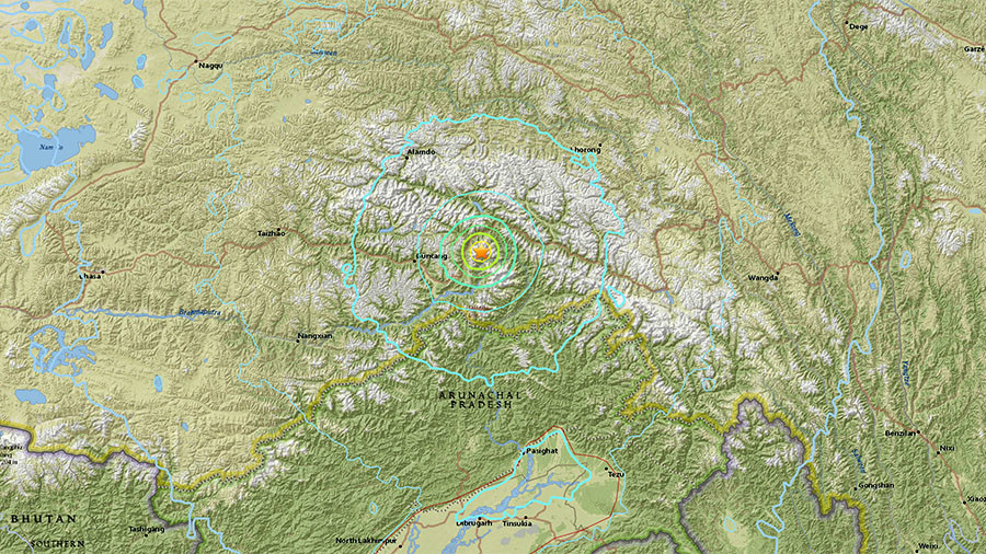 Shallow 6.3 earthquake hits southern China near Indian border