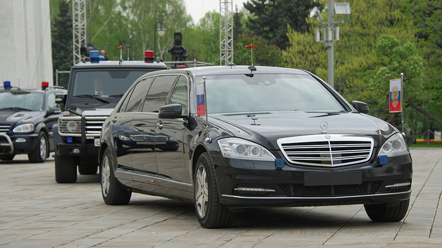 Putin motorcade threatened by 50 false bomb alerts from 'telephone terrorists'