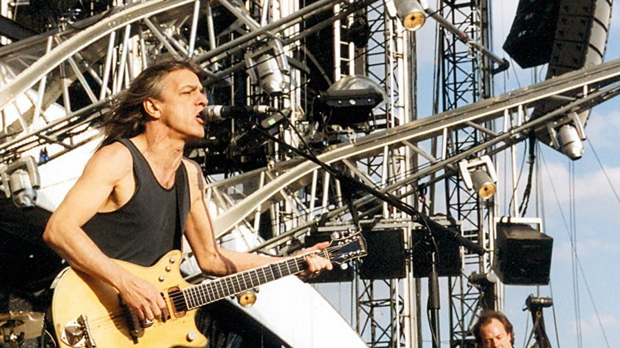 Tributes Pour In For AC/DC's Malcolm Young
