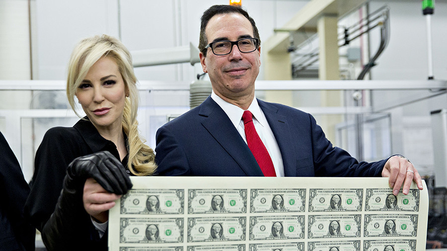 Treasury Secretary Mnuchin flattered to be considered a Bond villain