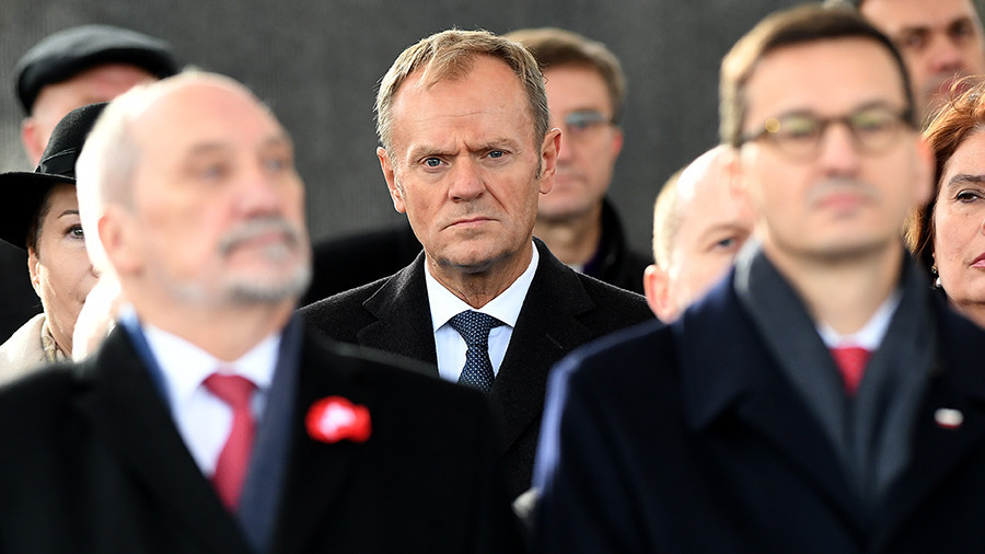 'Alarm!' EU's Tusk says Polish govt policy is 'Kremlin plan'