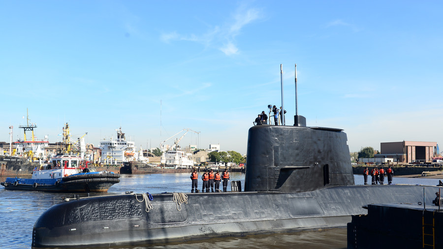 Missing Argentinian sub suffered electrical fault, made no satellite calls