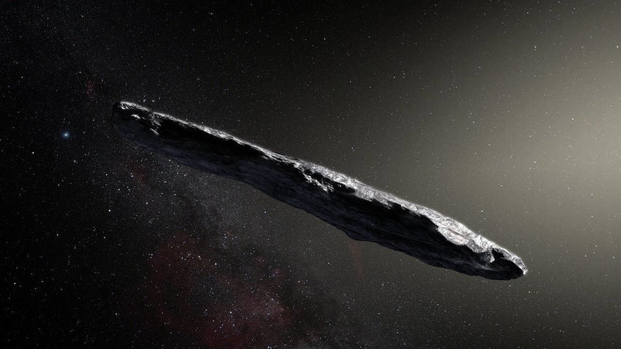 Cigar-shaped asteroid is first interstellar visitor to our solar system