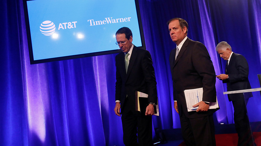DOJ sues to prevent AT&T-Time Warner merger