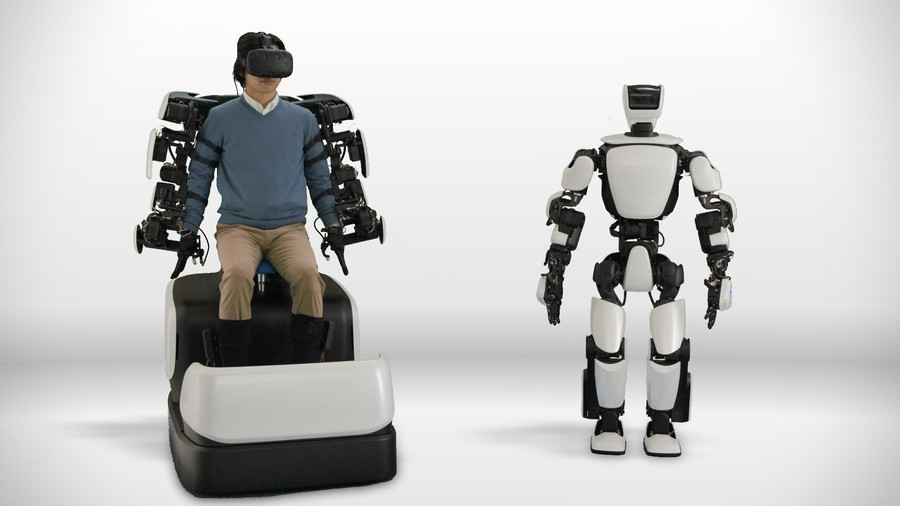 Meet Toyota's human movement mimicking T-HR3 robot